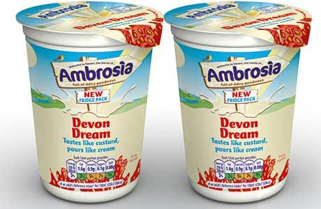 AMBROSIA has put its Devon Dream pouring sauce in a bigger tub and ...