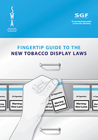 Scotland's tobacco display ban is arguably tougher for retailers to implement than the equivalent display ban south of the border. The excellent Fingertip Guide to the New Tobacco Display Laws, produced jointly by the Scottish Grocers' Federation and the Scottish Wholesale Association, is available to download from both organisations' websites. www.scottishshop.org.uk/latest-news/289-tobacco-display-the-essential-guide-for-retailers www.scottishwholesale.co.uk/media/20954/swa_fingertip_guide_web.pdf It's also available as an iPhone app, go to the Apple App Store and search for Tobacco Displays Scotland.