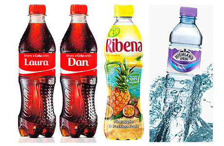 The Britvic Soft Drink Review noted Coca Cola Enterprises breaking new marketing ground last year with its Share a Coke campaign that featured bottles that included a large selection of male and female first names. And while energy drinks and cola continue to dominate sales of soft drinks in convenience outlets some other drinks did very well in impulse outlets in 2013 including juice drinks and plain water.