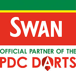 Swan has become an official partner of top darts events.
