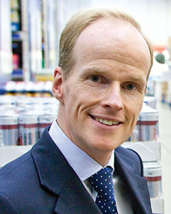 Booker chief executive Charles Wilson: capacity to grow to £6bn sales.