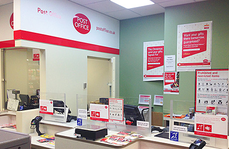 Post offices top shoppers' list