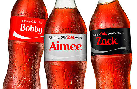 Coke adds more names for 2014