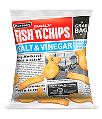 After 10 years away, Burton's Fish 'n' Chips is back on shelf.
