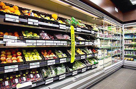 Price cuts see food sales fall