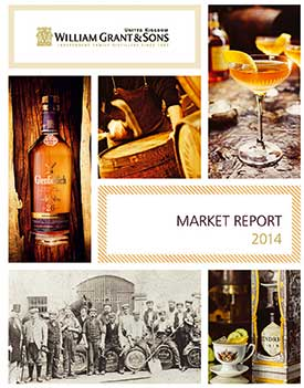 The William Grant & Sons UK Market Report says premium spirits are on the up.