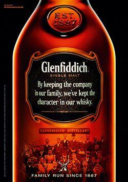 Glenfiddich, whisky,