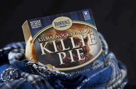 Pie goes sky high