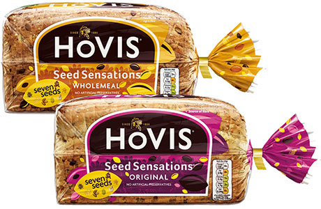 Hovis has a new bag, made from renewable polythene, that will cut its carbon footprint by three-quarters.