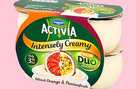Activia's fruity additions