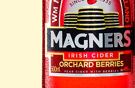 Magners drinkers see red