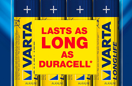 Varta cites competitor in re-launch