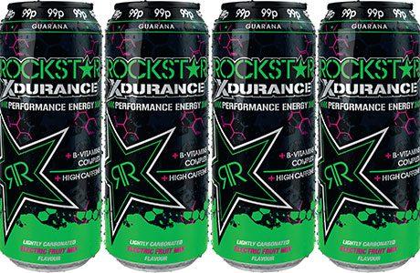 Green Rockstar Energy Drink of Rockstar Energy Drinks