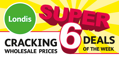 Londis's new Super 6 programme features discounted wholesale prices on six items coupled with brand and symbol group advertising.