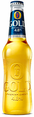 Foster's Gold – one of five UK product launches that well and truly cracked it, says Nielsen.