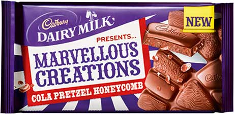 Cadbury Dairy Milk Marvellous Creations was said to be well on the way to reaching the performance that a Nielsen report says signifies new product launch success
