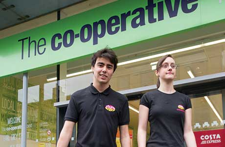 Co-op courts the young