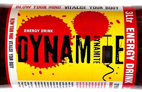 Dynamite makes a big bang