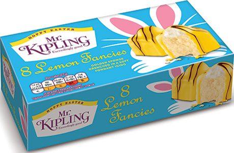 Mr Kipling Easter cakes
