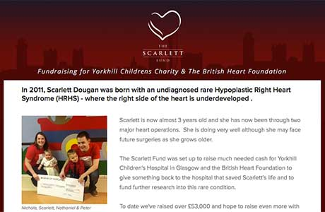 Spar supports Scarlett
