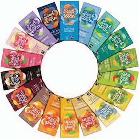 Seed and Bean Fairtrade chocolate, fairtrade fortnight,