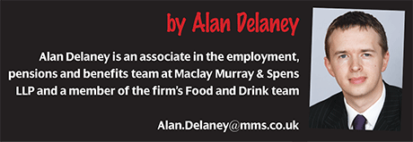 Alan Delaney, Maclay Murray & Spens