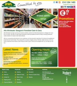 Alfa wholesale website copy