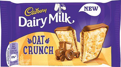 Dairy Milk Oat Crunch Feb 15