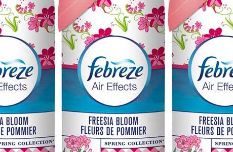 Febreze freshens up for spring