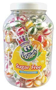 Hancocks sugar free lollies Feb 15