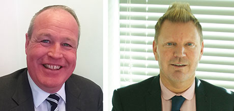 Gary Conway (right) and Ian Welch (left) are both former employees of Harvest Energy recently appointed by Certas Energy to further the expansion of its Gulf brand across the UK.