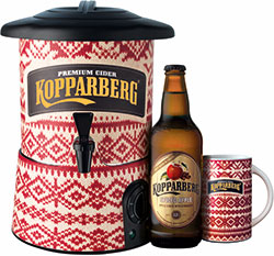 Kopparberg's customer marketing manager Ben Turner said fruit cider had been the big winner in cider sales last year. The brand also launched its winter cider Spiced Apple in both off and on-trades.