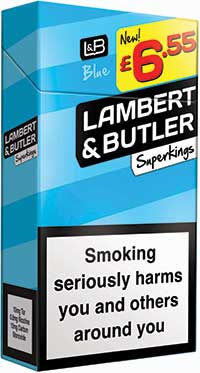 Lambert & Butler, tobacco, cigarettes,
