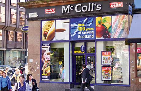 McColl's hits 800 but store sales slip