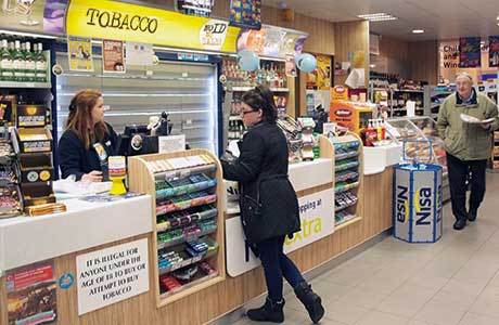 As it's larger than 3000 sq ft Terry Feeney's Nisa Extra in Linwood Renfrewshire has been 'tobacco-dark' for almost two years Preparing early and ensuring staff were fully trained helped the store transition smoothly with no negative effects on business.