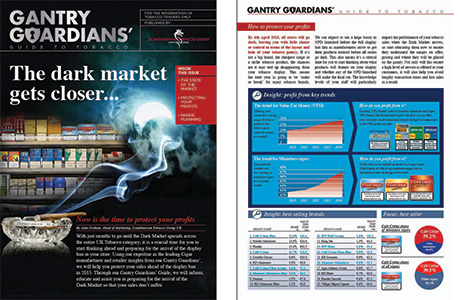 The original Gantry Guardians programme, including its guide to the tobacco display ban from STG UK, above, was augmented by the launch of a second edition of the guide late last year. The STG UK programme includes views and advice from leading independent retailers around Britain.