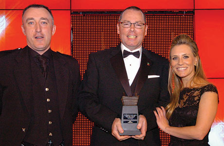 Murray Ferguson, Manager, Spar, Symbol Store of the Year sponsored by Britvic, Scottish Grocer Awards
