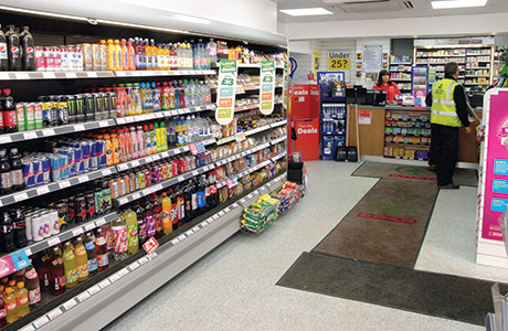 Spar, forecourts, c-stores, convenience store, shopping, service station,