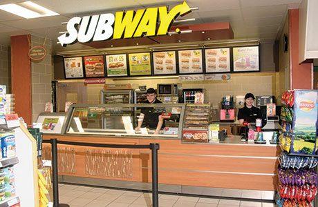 Subway, Spar