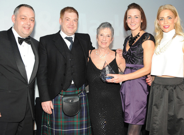 Whyte & Mackay took the Scottish Wholesale Achievers 2015 supplier award for Best Overall Service.