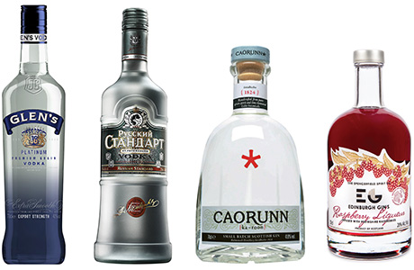 Both the vodka and gin categories did well in 2014, growing ahead of the rate of inflation. In vodka Glen's and Smirnoff are both responding to demand for special vodkas. Russian Standard vodka was up 32% last year and Scottish gins such as Caorunn, Hendrick's and Edinburgh Gin Raspberry liqueur showed major growth.
