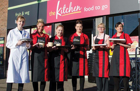 The Kitchen opens in Edinburgh store