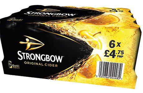 Scotland's most valuable off-trade cider brands