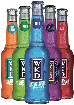 WKD remains clear RTD leader in the Scottish off-trade but the category is wide-ranging and performances of different brands and products varied a great deal in 2014.