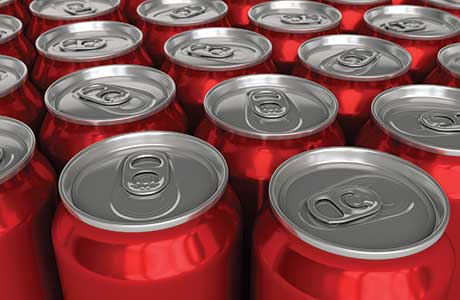 Cans increased their share of the carbonated soft drinks packaging market, taking sales from PET to reach 29.7%.
