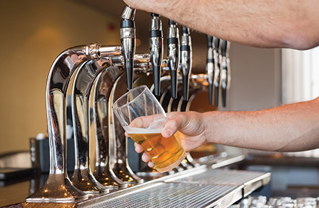 Budget cheers on drinks duty