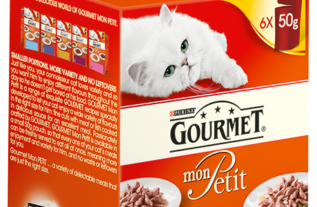 More on the menu for gourmet cats