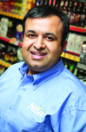 Nisa retailer Sid Ali says he has increased his margin on tobacco products by over 3% since getting rid of price-marked-packs.