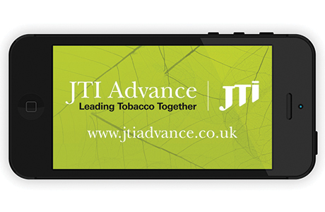 JTI Advance the company's computer, tablet and smartphone service for tobacco retailers is designed to dovetail with the face-to-face service provided by reps.