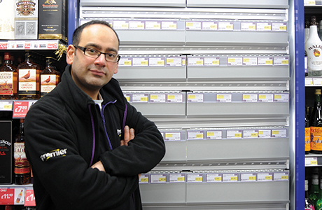Scottish retailer Sunny Kumar of Premier Newspage in Cowdenbeath worked with his JTI rep and covered the store's gantry in January. He chose to maintain existing lines so that his customers would know their favourites would be in stock. And he continued to use PMPs too
